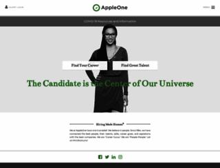 appleone.com screenshot