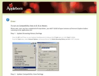 appletexasgroupjobs.clickandhire.net screenshot