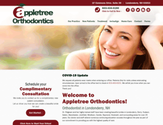 appletreeortho.com screenshot