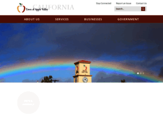 applevalley.org screenshot