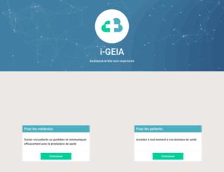 appli.elia-medical.com screenshot