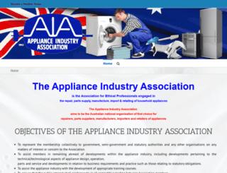 appliance.asn.au screenshot