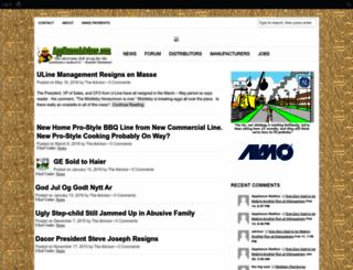 applianceadvisor.com screenshot
