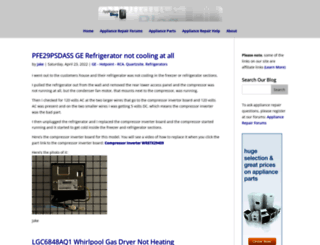applianceblog.com screenshot