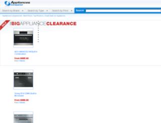 appliancescompared.net screenshot