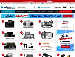 appliancesonline.com.au screenshot