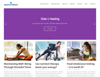 appliancestock.com screenshot