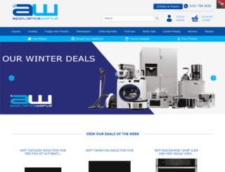 applianceworldonline.com screenshot