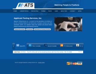 applicanttesting.com screenshot