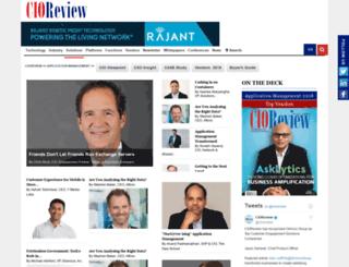 application-management.cioreview.com screenshot