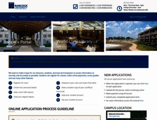 application.babcock.edu.ng screenshot