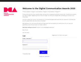 application.digital-awards.eu screenshot