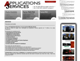applications-services.com screenshot