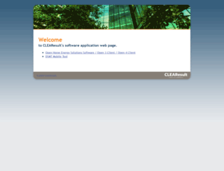 applications.clearesult.com screenshot