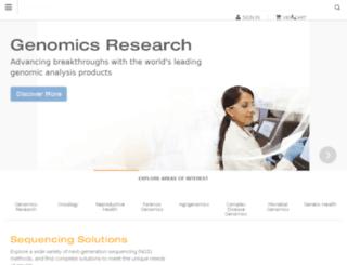 applications.illumina.com screenshot