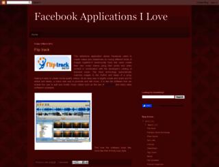 applicationson.blogspot.com screenshot
