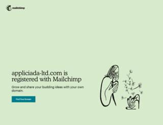 appliciada-ltd.com screenshot