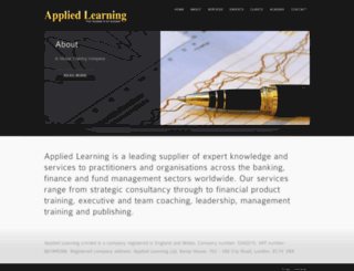 applied-learning.com screenshot
