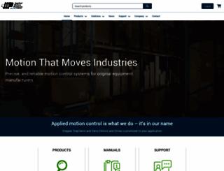 applied-motion.com screenshot