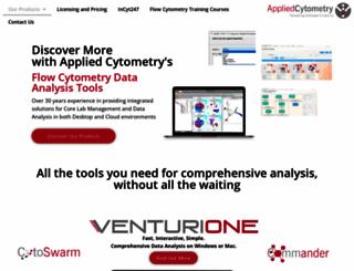 appliedcytometry.com screenshot