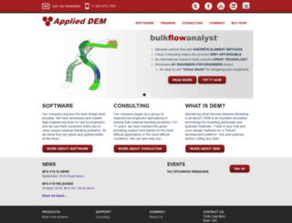 applieddem.com screenshot