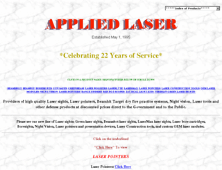 appliedlaser.com screenshot