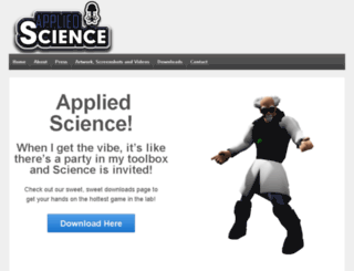 appliedsciencegame.com screenshot
