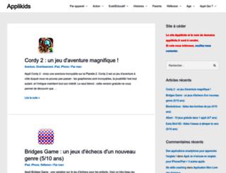 applikids.fr screenshot