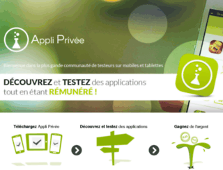 appliprivee.com screenshot