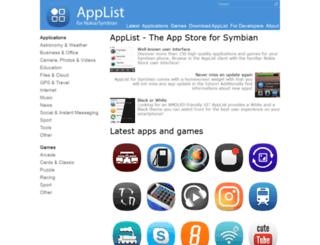 applist.schumi1331.de screenshot