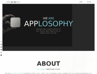 applosophy.com screenshot