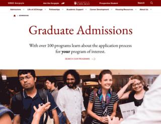 apply-grad.uchicago.edu screenshot