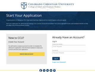 apply.ccu.edu screenshot