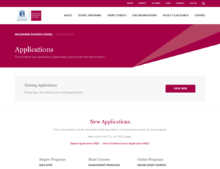 apply.mbs.edu screenshot