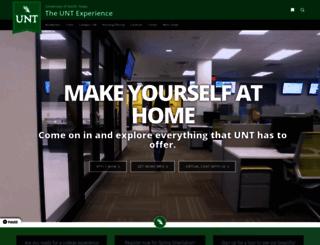 apply.unt.edu screenshot