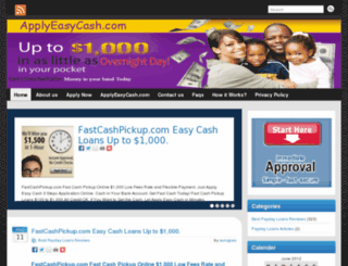 applyeasycash.com screenshot
