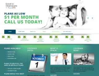 applyforobamacare.org screenshot