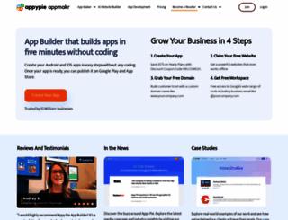 appmakr.com screenshot