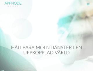 appnode.se screenshot