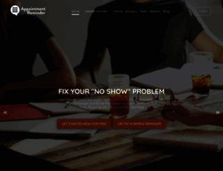appointmentreminder.org screenshot