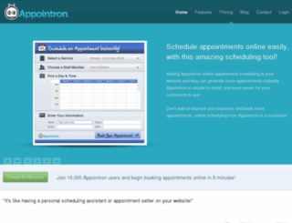 appointron.com screenshot