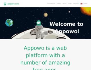 appowo.com screenshot