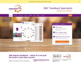 appraisal360.co.uk screenshot