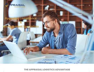 appraisallogistics.com screenshot