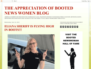 appreciationofbootednewswomen.blogspot.de screenshot