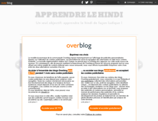 apprendre-le-hindi.overblog.com screenshot