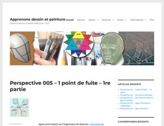 apprenons-dessin-et-peinture.fr screenshot