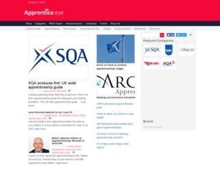 apprenticeeye.co.uk screenshot