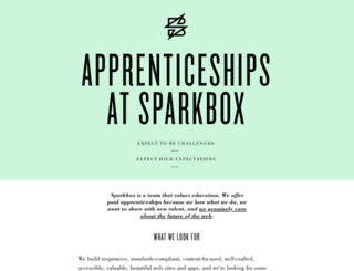 apprentices.seesparkbox.com screenshot