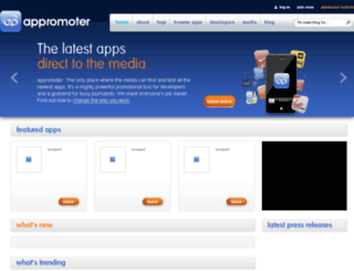appromoter.com screenshot